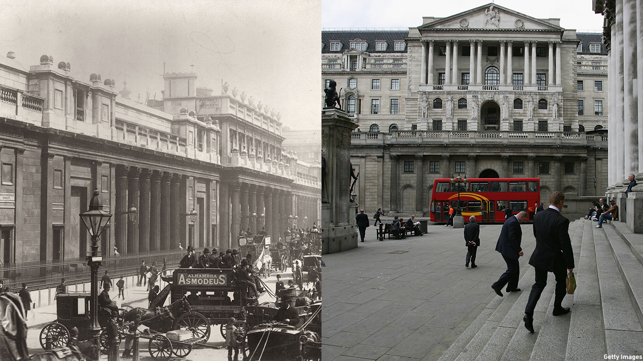 The Bank of England was founded in 1694 and is still open for business. (Getty Images)