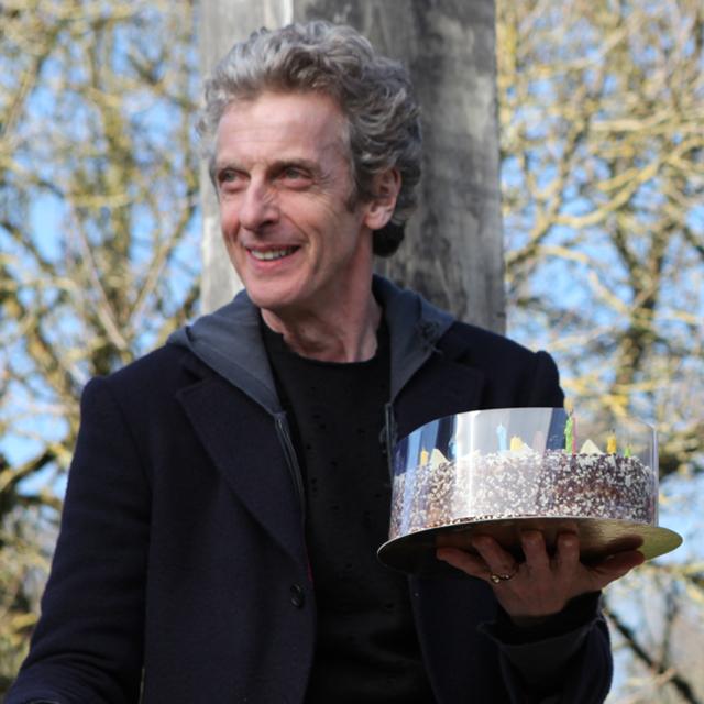 Birthday cake on location