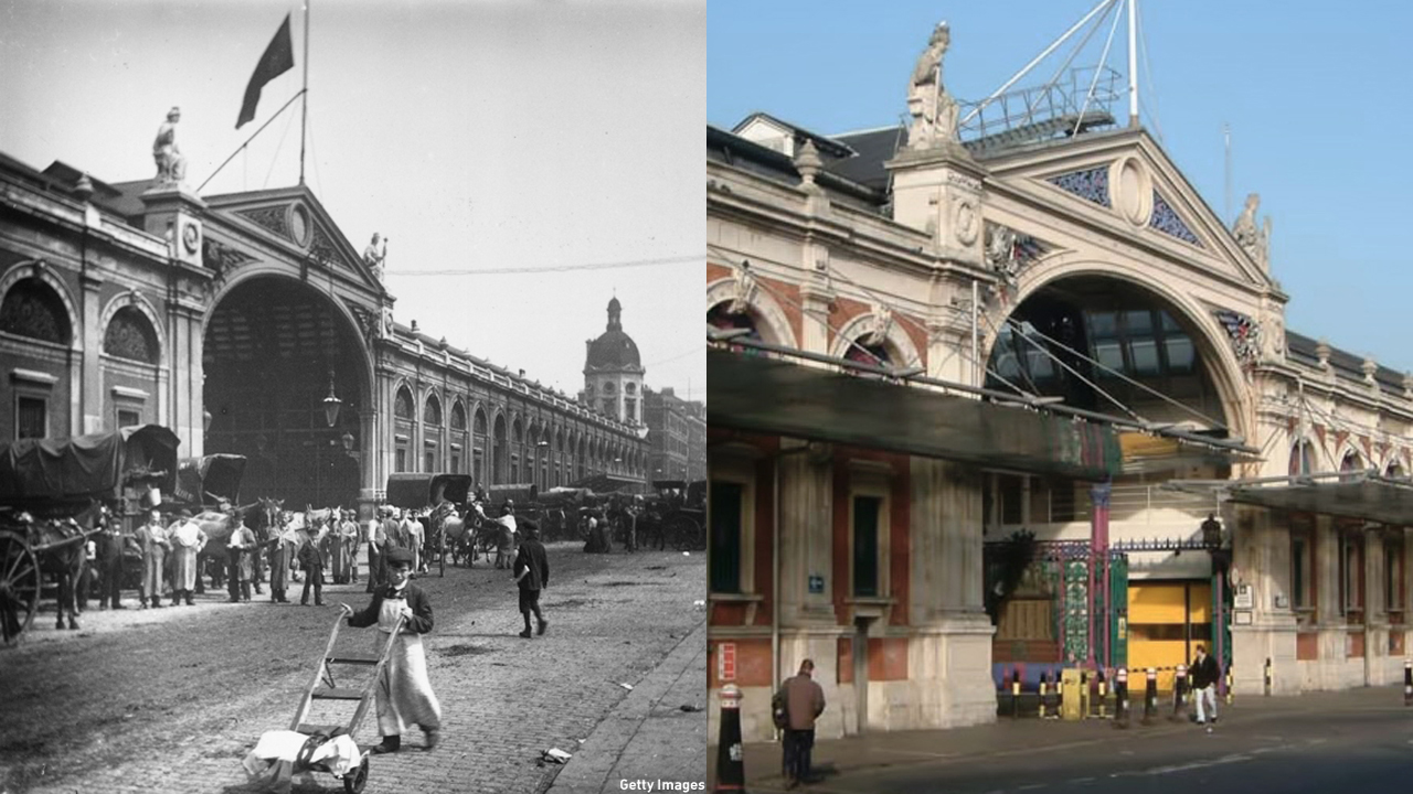 The Smithfield Meat Market opened in 1875 but was destroyed in 1958. The current building was rebuilt in 1962. (Getty Images/Wiki)