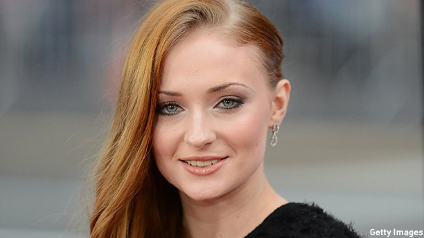 sophie turner height 2016