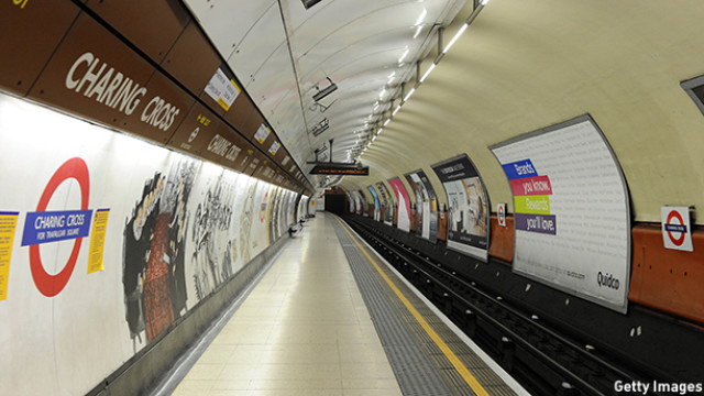 London Underground Workers Participate In The first Of Two 48-Hour Strikes
