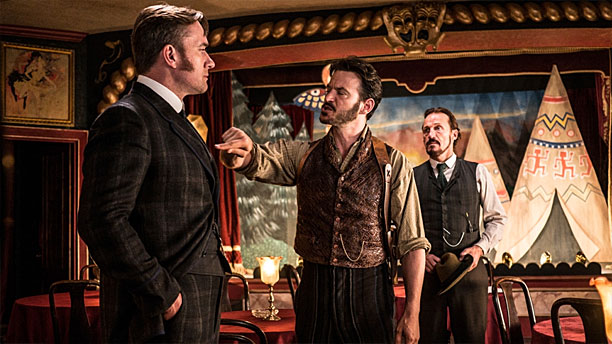"""""""And you're a Ripper Street (Pic: BBC America)"""
