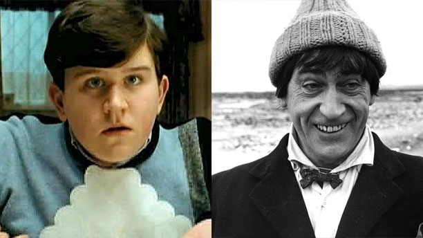 Harry Melling and Patrick Troughton