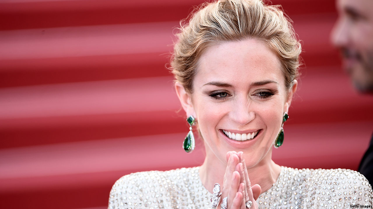Emily Blunt at the Cannes premiere of 'Sicario' on May 19, 2015. (Photo: Ian Gavan/Getty Images)