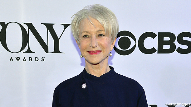 Dame Helen Mirren at the Tony Nominees meet and greet on April 29, 2015. (Photo: Slaven Vlasic/Getty Images Entertainment)