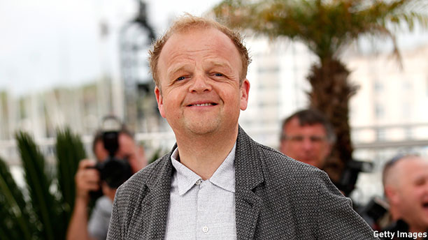 Toby Jones at the Cannes photocall for 'Tale of Tales' on May 14, 2015. (Photo: Tristan Fewings/Getty Images)