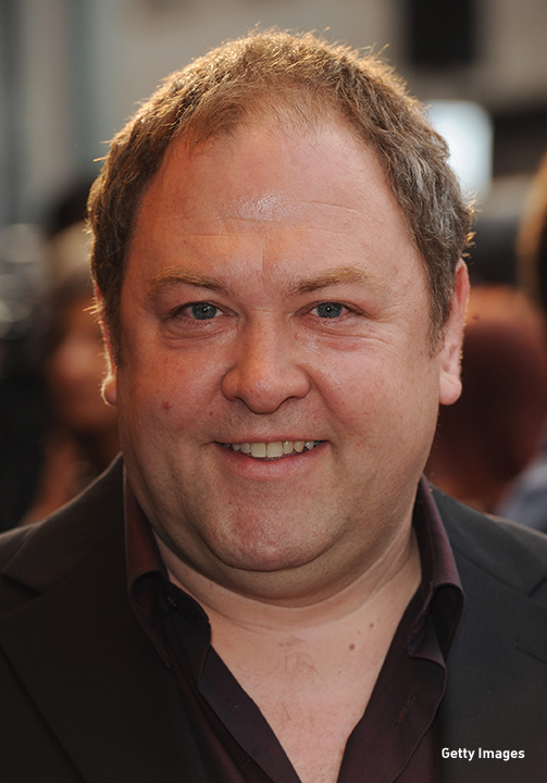 2010: Mark Addy at the 'It's a Wonderful Afterlife' UK premiere in London.