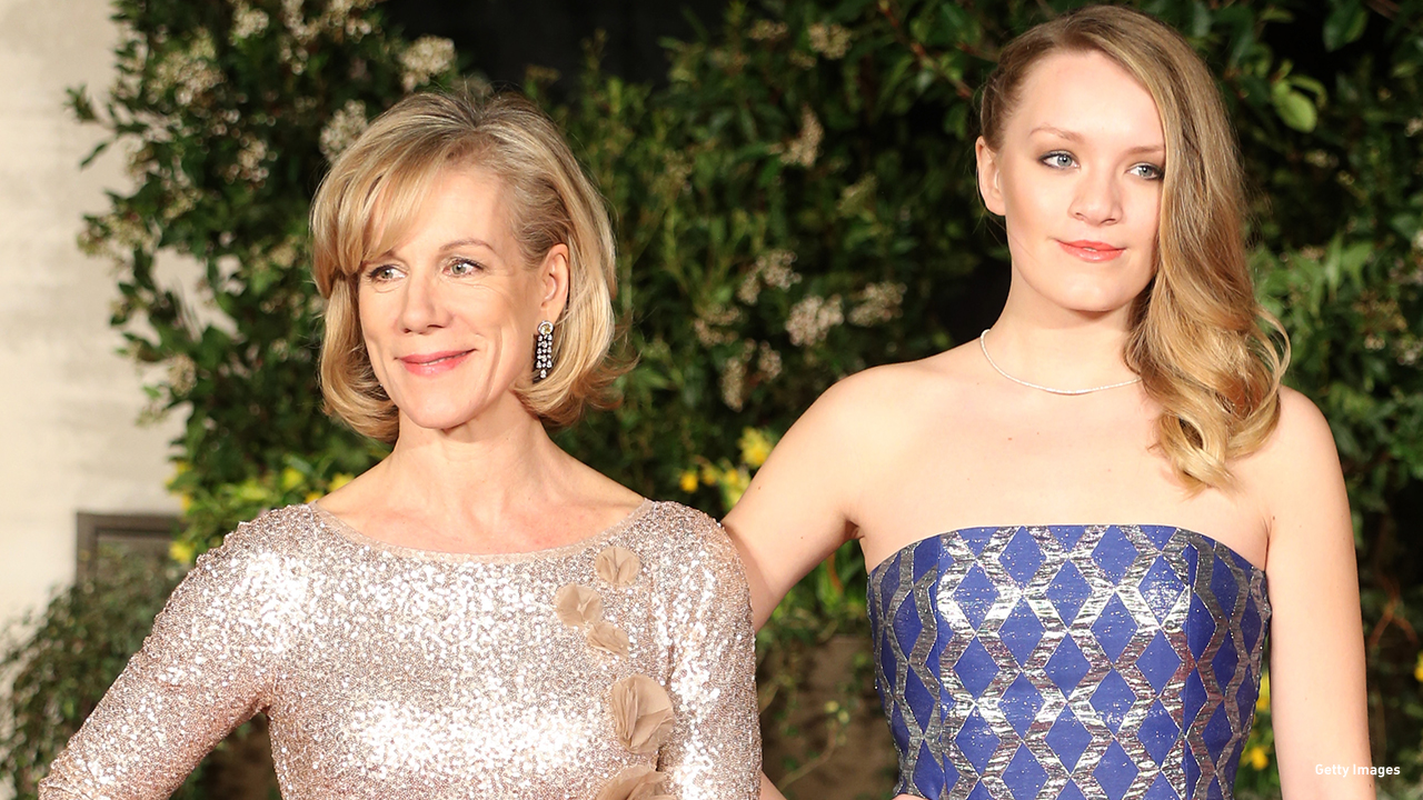 2014: Juliet Stevenson and Rosalind Hannah Brody at the EE British Academy Film Awards in London.