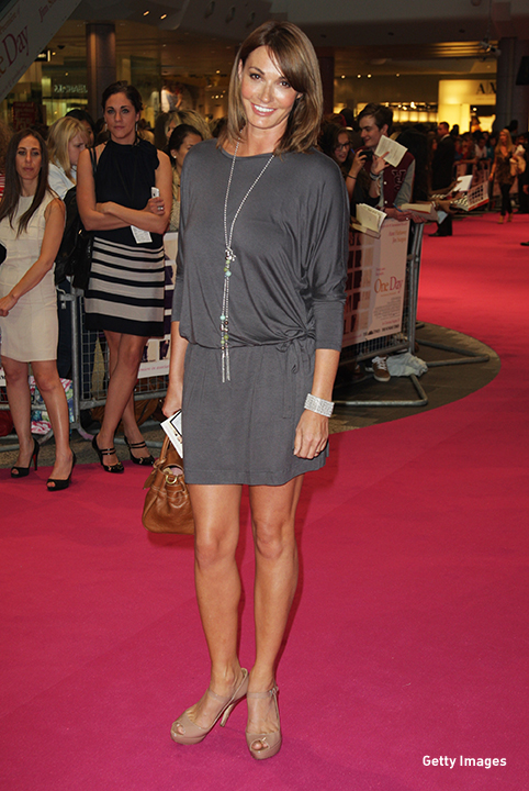 2011: Sarah Parish at the European premiere of 'One Day' in London.