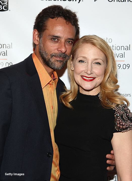 2009: Alexander Siddig and Patricia Clarkson attend the 'Cairo Time' screening at the Toronto International Film Festival.