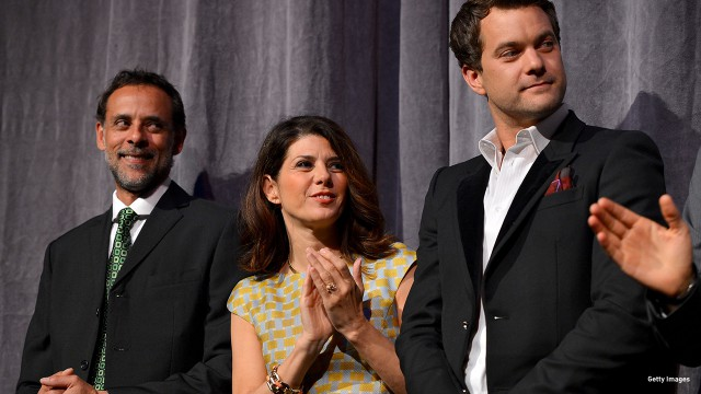 2012: Alexander Siddig, Marisa Tomei and Joshua Jackson attend the 'Inescapable' premiere at the Toronto International Film Festival.