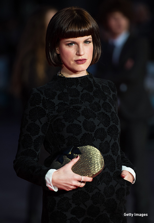 2013: Jemima Rooper at the European premiere of 'One Chance' in London.
