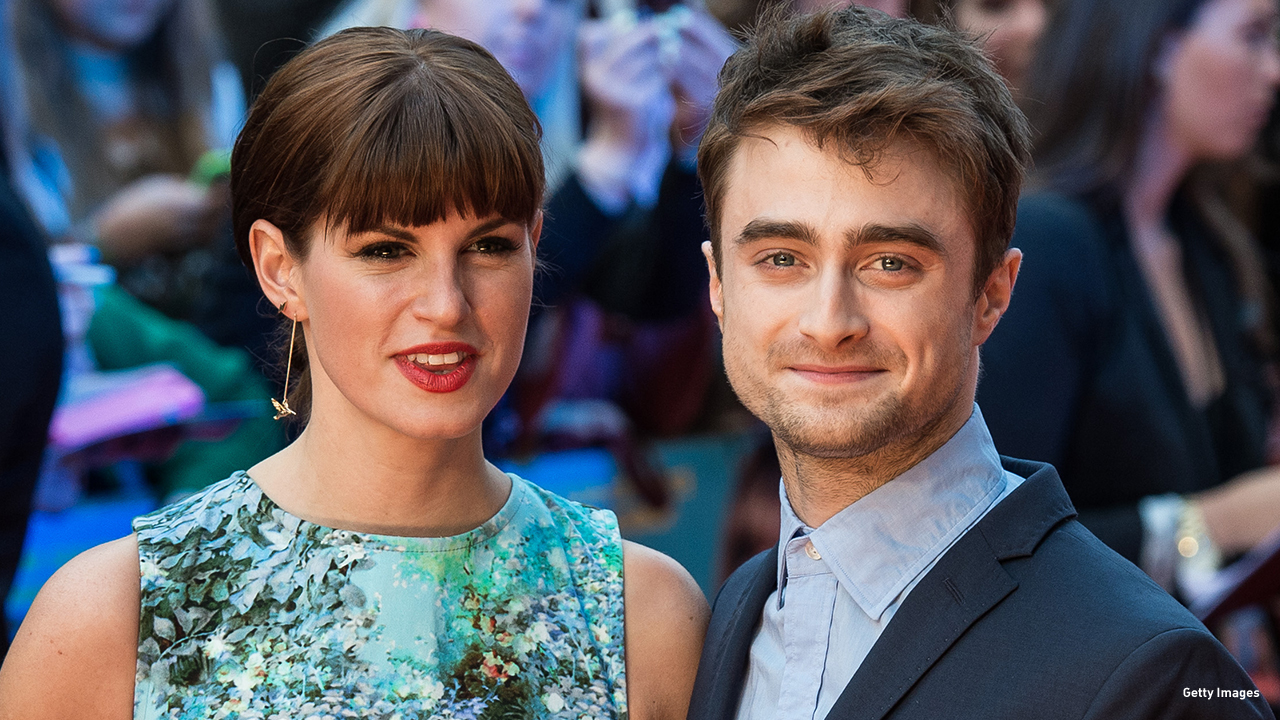 2014: Jemima Rooper and Daniel Radcliffe attend the UK premiere of 'What If' in London.