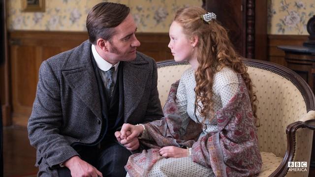 Inspector Edmund Reid (Matthew MacFadyen) and Mathilda Reid (Anna Burnett).