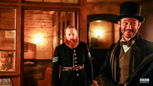 Sergeant Donald Atherton (David Wilmont) and Captain Homer Jackson (Adam Rothenberg).