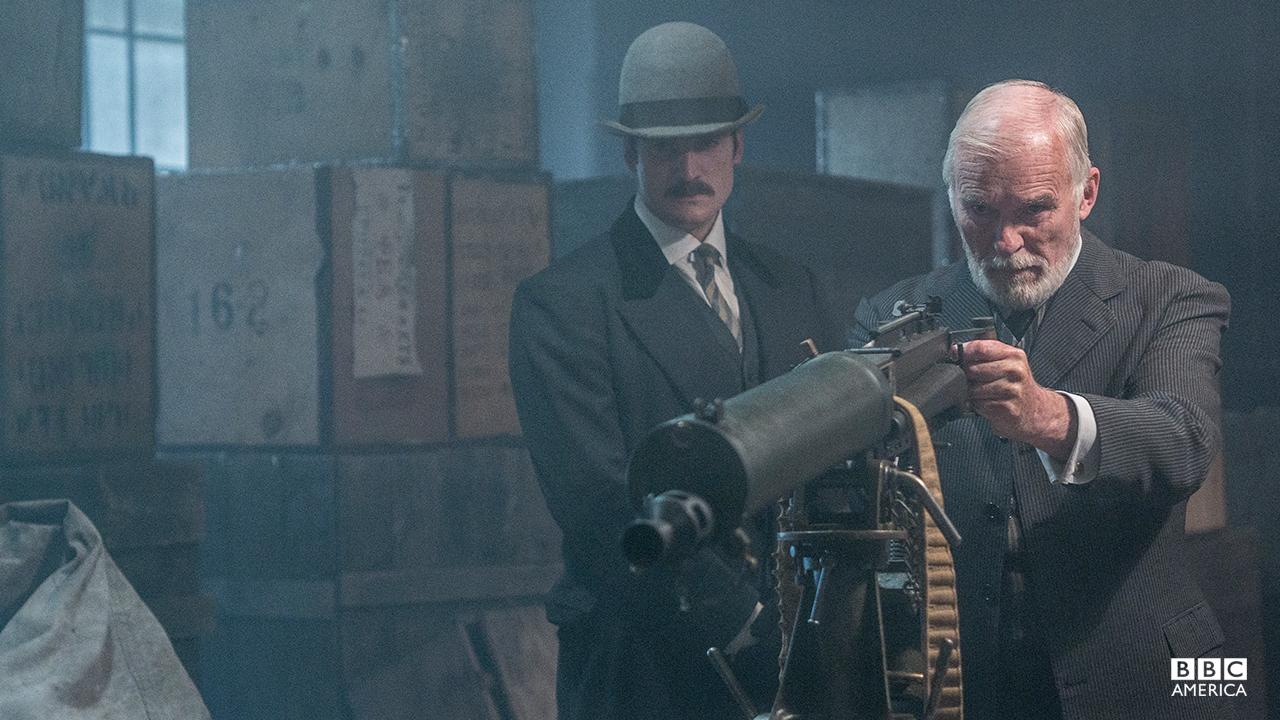 Theodore Swift (Ian McElhinney).
