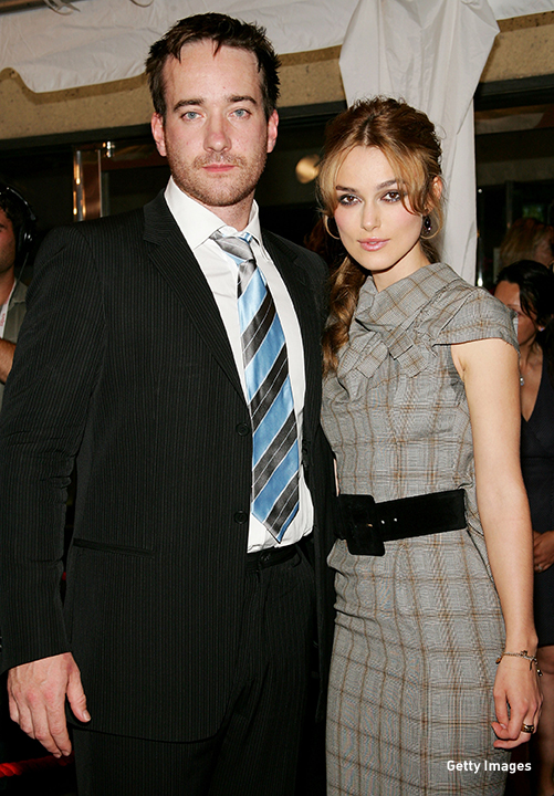 2005: Matthew MacFadyen and Keira Knightley attend the 'Pride & Prejudice' premiere at the Toronto International Film Festival.