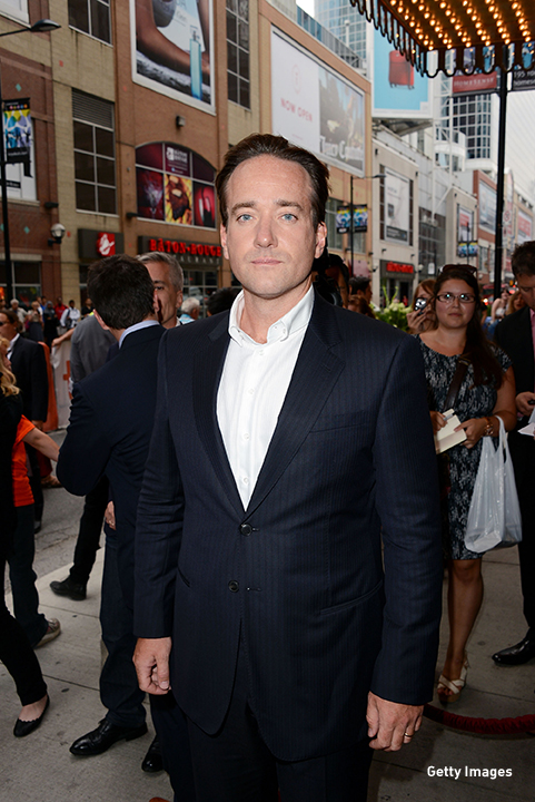 2012: Matthew MacFadyen attends the 'Anna Karenina' premiere at the Toronto International Film Festival.