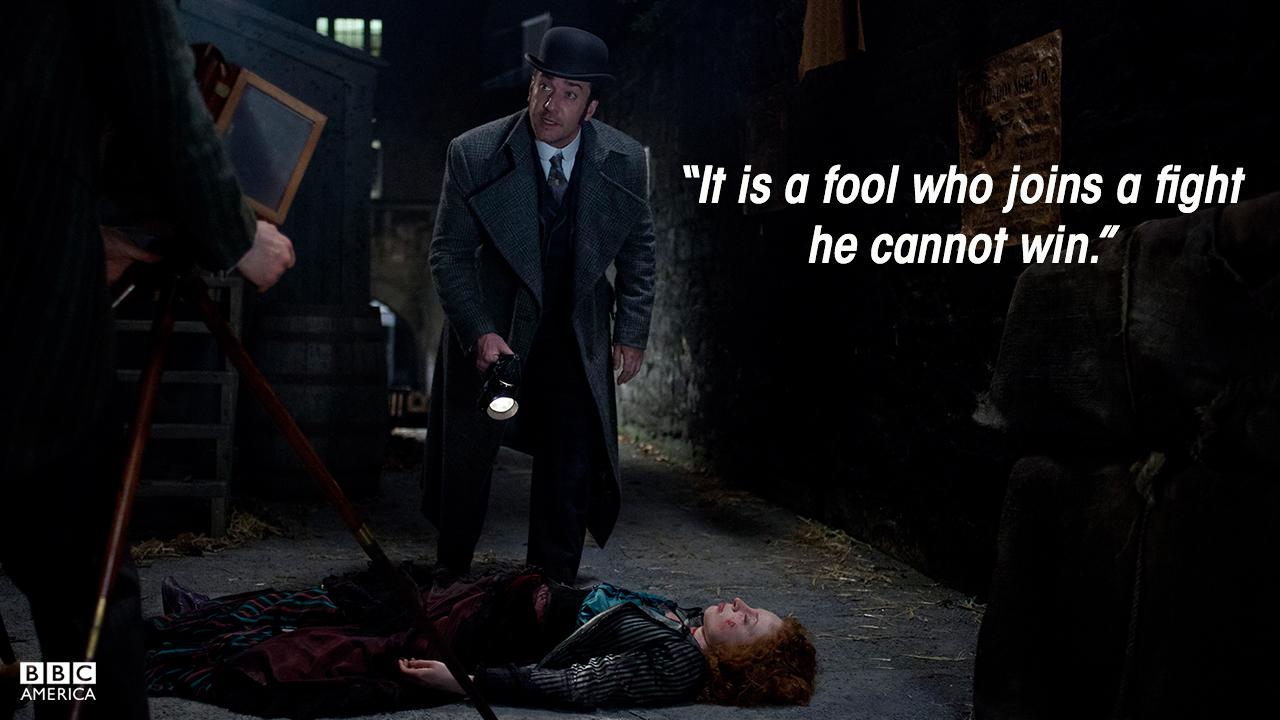 Inspector Edmund Reid (Matthew MacFadyen), Season 1.