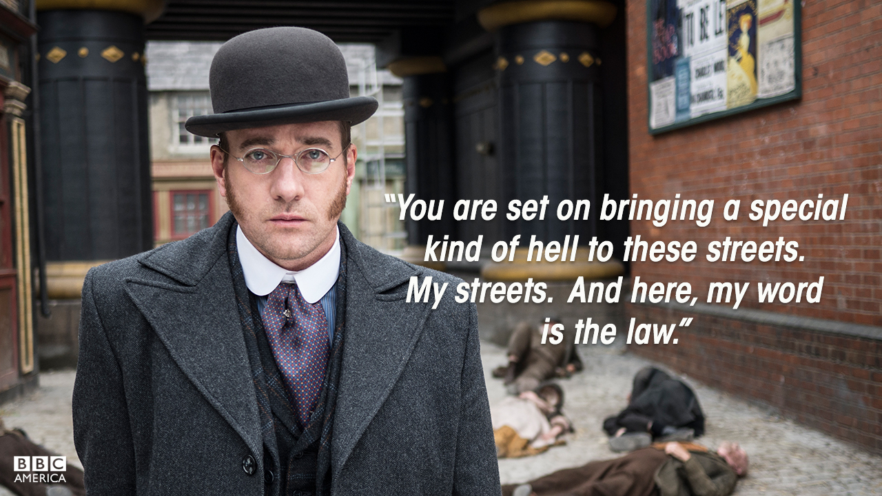 Inspector Edmund Reid (Matthew MacFadyen), Season 2.