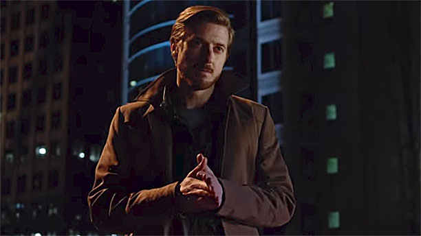 Arthur Darvill in 'DC's Legends of Tomorrow' (Pic: The CW)
