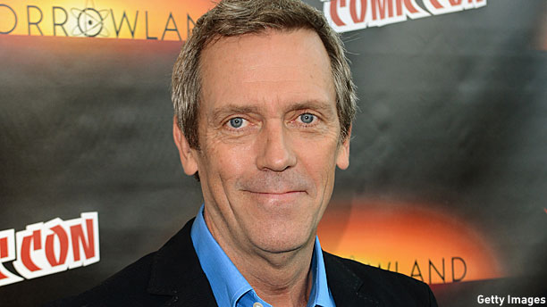 Hugh Laurie (Pic: Step...