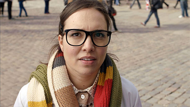 Ingrid Oliver as Osgood in 'Doctor Who' (Pic: BBC)