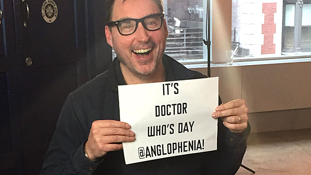 Toby Whithouse knows what day it is (Pic: BBCA)