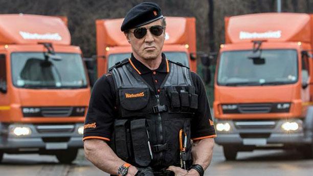 Sylvester Stallone (Pic: Warburtons)