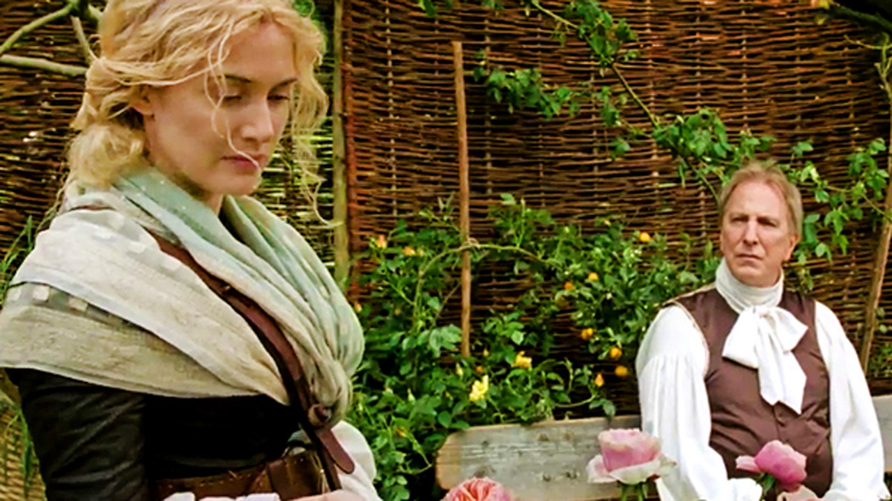 Winslet reunites with Alan Rickman in the 2015 film 'A Little Chaos'. (BBC)