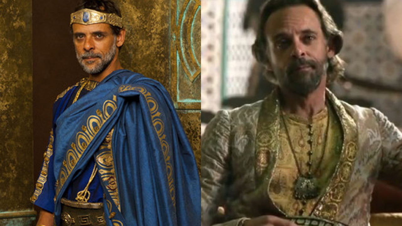 Alexander Siddig as King Minos in Atlantis and as Doran Martell in Game of Thrones.