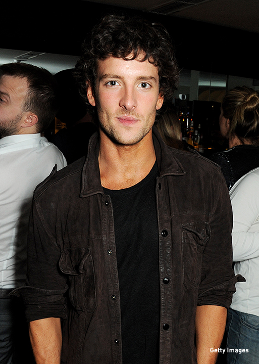 2013: Jack Donnelly works the room at the 'Hello Carter' after party in London.