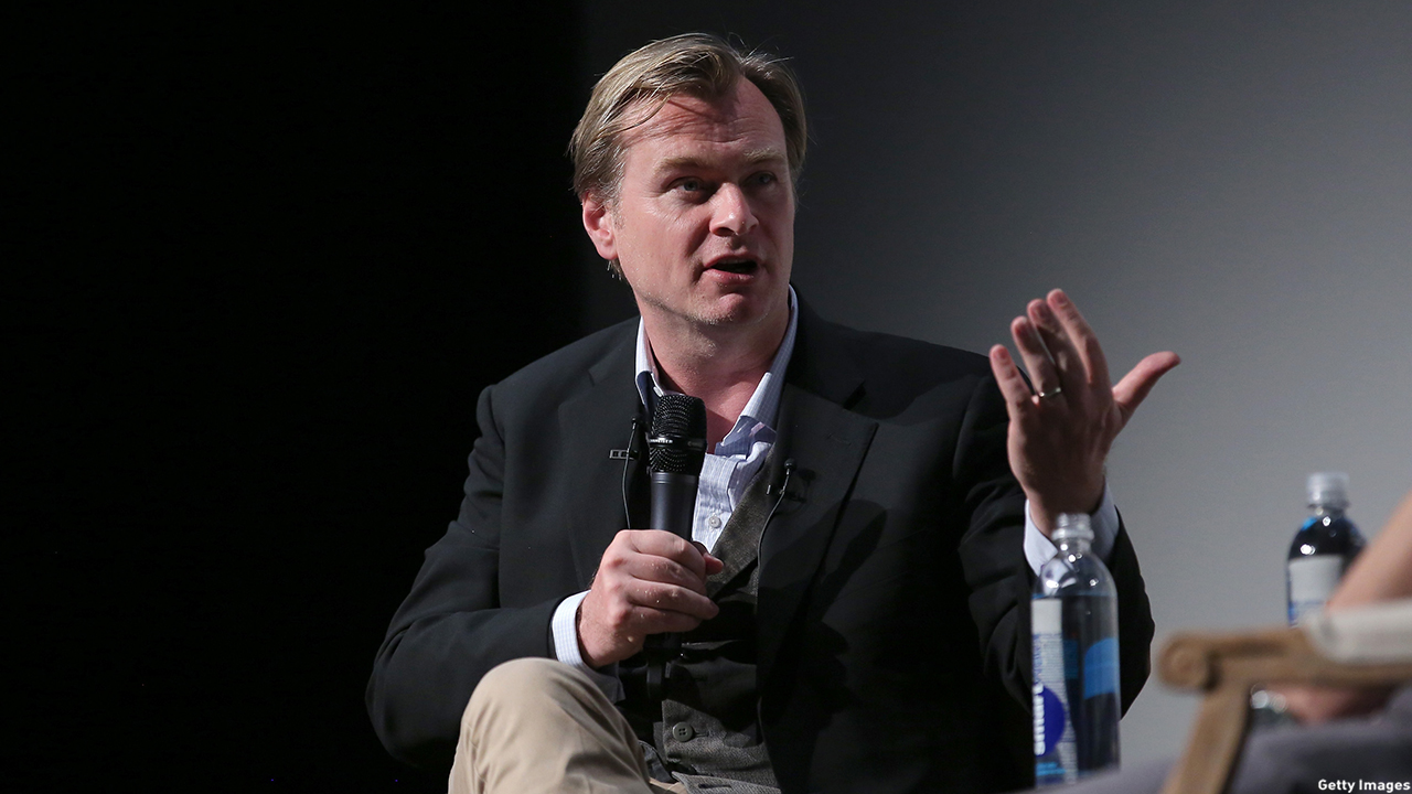 Christopher Nolan has that professor vibe, but alas it's not a package deal. (Jemal Countess/Getty Images/2015 Tribeca Film Festival)