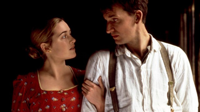 Christopher Eccleston and Winslet portrayed a couple in love in 1996's 'Jude'. (BBC)