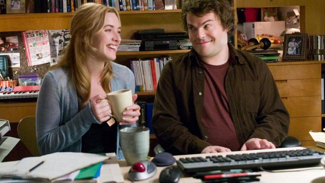 Jack Black hit the jackpot when Winslet's character turned up in L.A. in 2006's 'The Holiday'. (Columbia Pictures)