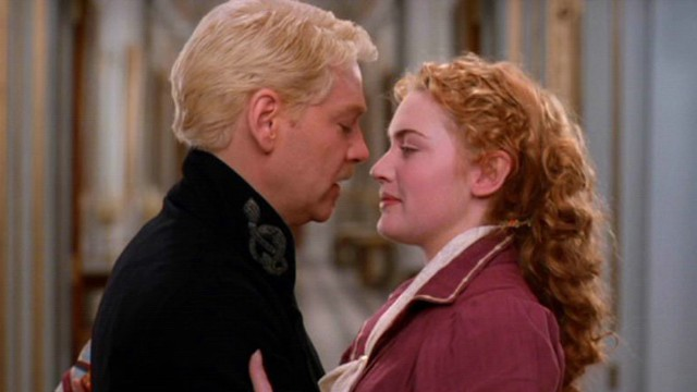 Kenneth Branagh made his move on Ophelia, played by Winslet, in 1996s 'Hamlet'. (Castle Rock Entertainment)