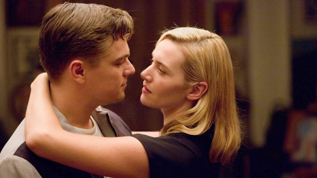 Winslet reunited with her 'Titantic' co-star for 2008's 'Revolutionary Road'. (Dreamworks)
