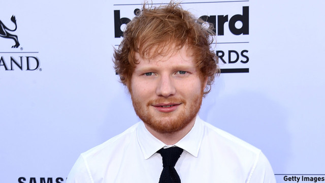 Ed Sheeran: Have guitar, will cover (Pic: Jason Merritt/Getty Images)