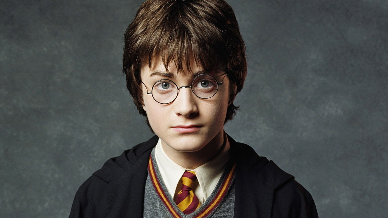 Daniel Radcliffe as Harry Potter in 'Harry Potter and the Sorcerer's Stone' (Pic: Warner Bros)