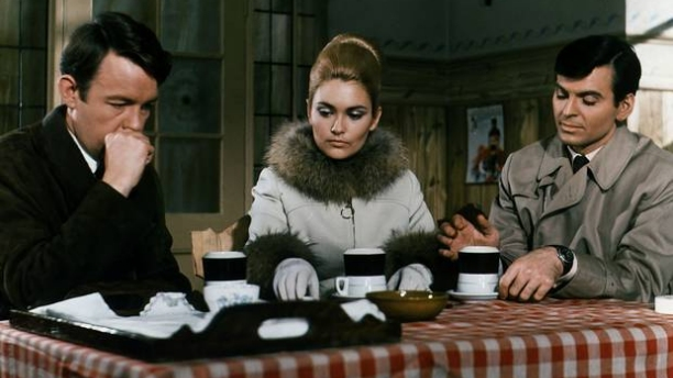 William Gaunt, Alexandra Bastedo and Stuart Damon in 'The Champions.' (Pic: ITC Entertainment)