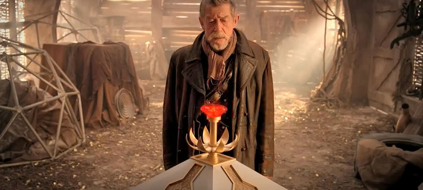 Sir John Hurt in Doctor Who (Pic: BBC)
