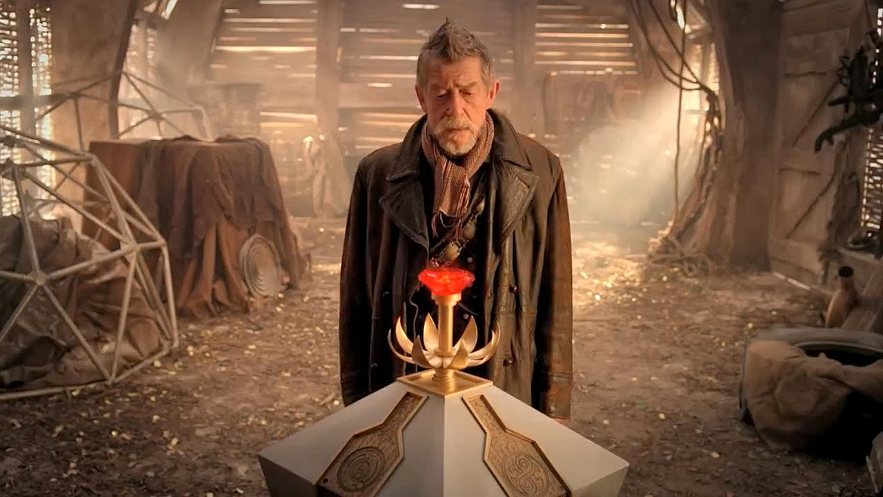 Sir John Hurt as the War Doctor in 'Doctor Who' (Pic: BBC)