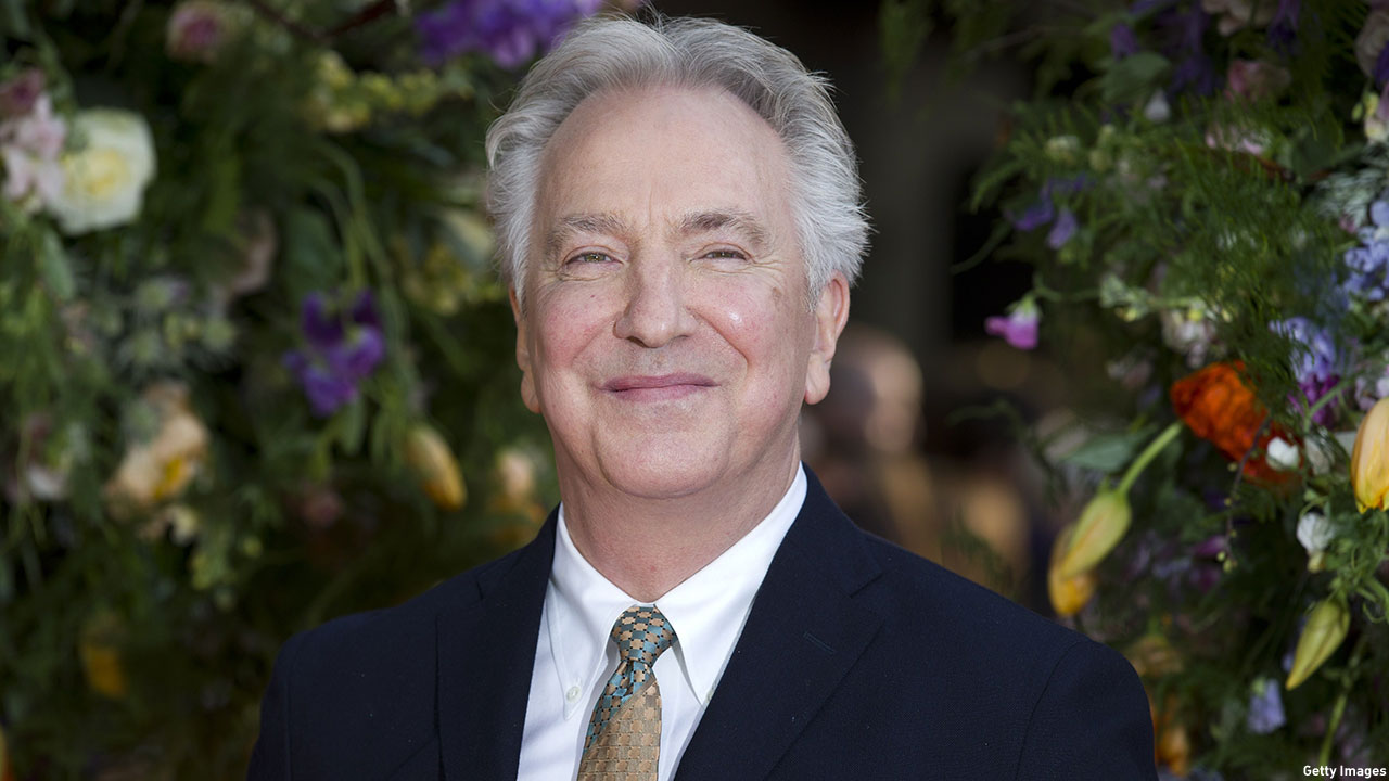 Alan Rickman at the U.K. premiere of 'A Little Chaos' in London. (Photo: Justin Tallis/AFP/Getty Images)
