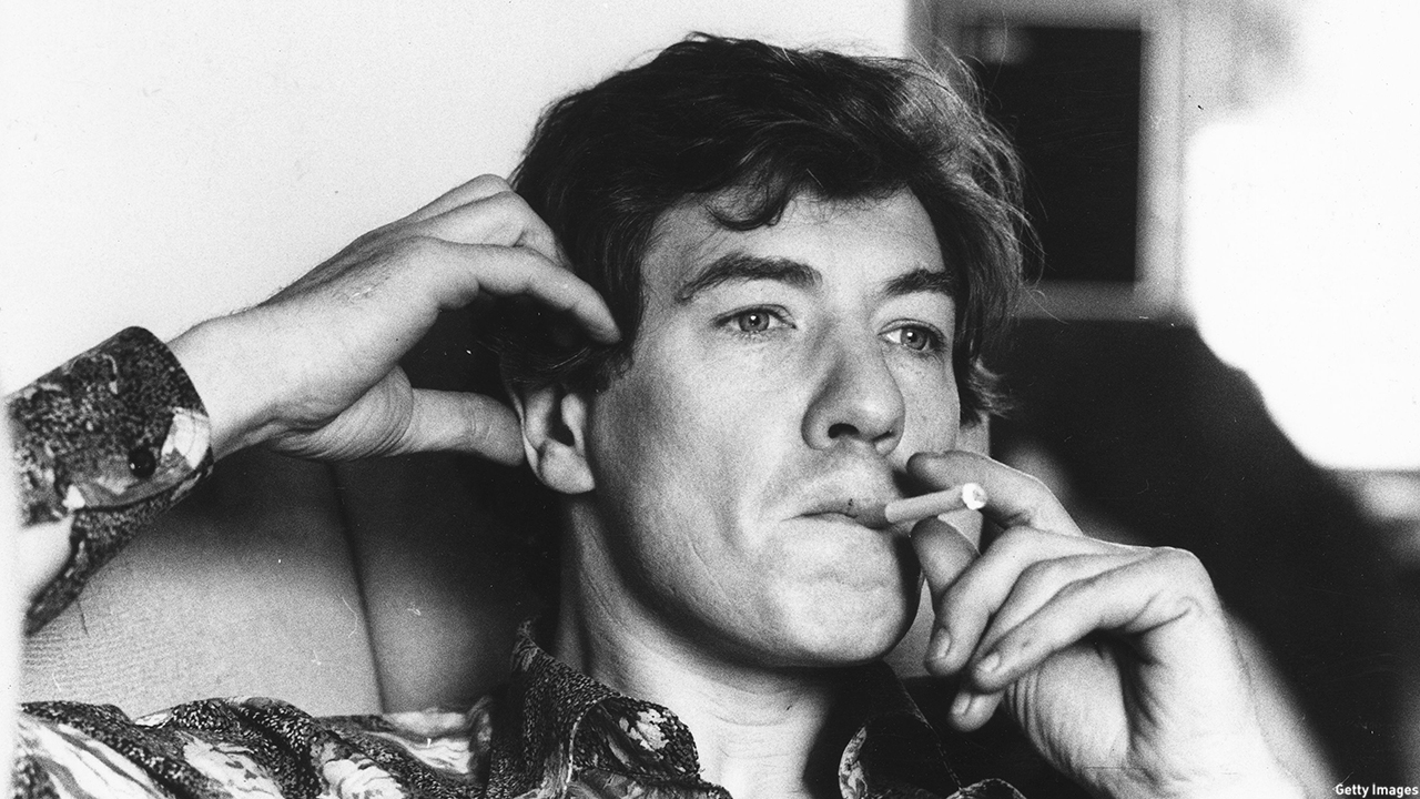 McKellen was seen relaxing in 1978. (RoyJones/Evening Standard/Getty Images)