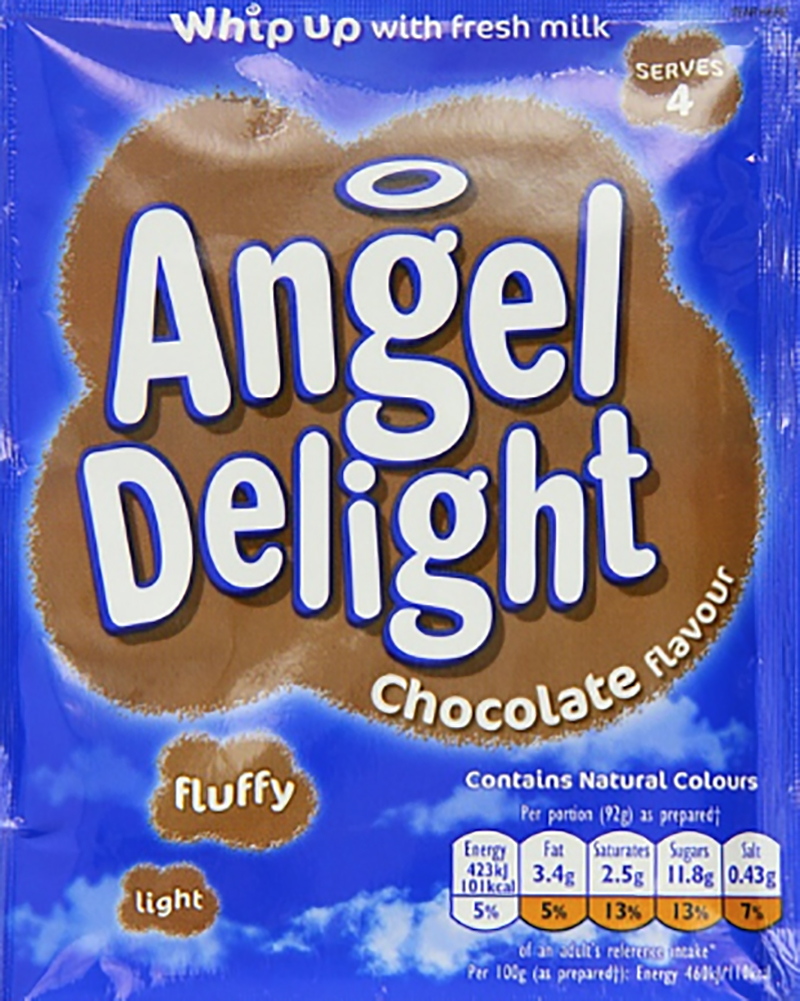 You think we'd be full but nope. Some Angel Delight, similiar to whipped pudding, would hit the spot after tea. (Amazon.co.uk)