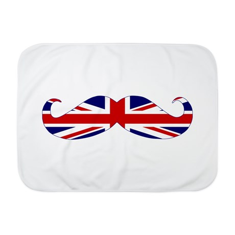 This British blanky will keep the baby wrapped in style. (Cafe Press)