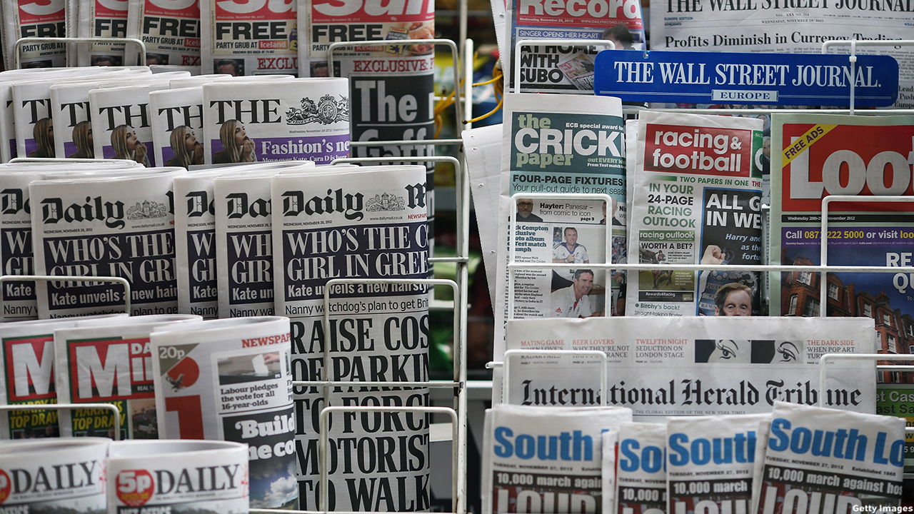 British dailies to actually hold and flip through. (Kitwood/Getty Images)