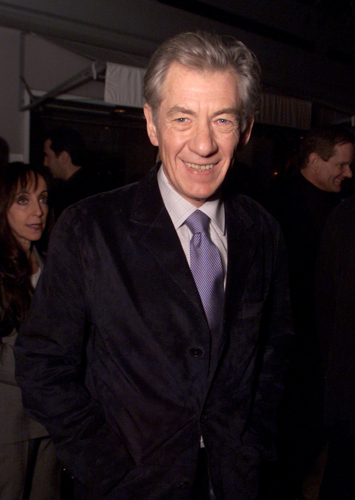 In 2002 McKellen swung by Talk Magazine's Pre-Golden Globes party at Mondrian in Los Angeles, CA. (Kevin Winter/Getty Images)