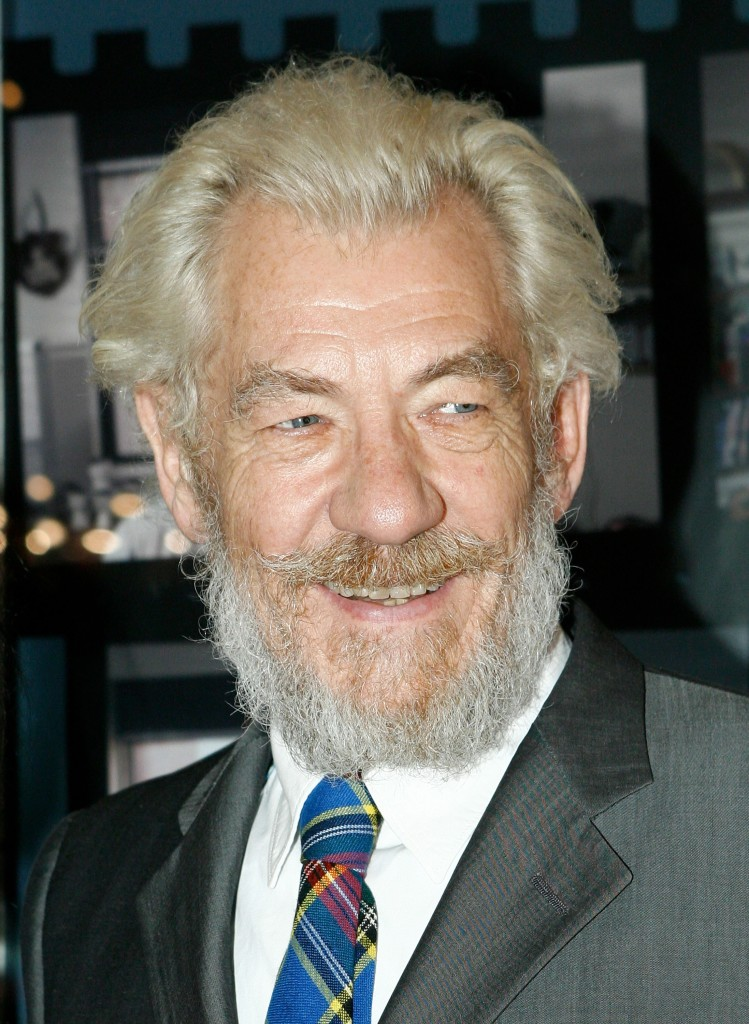 McKellen sported some whiskers at the opening night of the 2007 Melbourne International Film Festival. (Simon Fergusson/Getty Images)