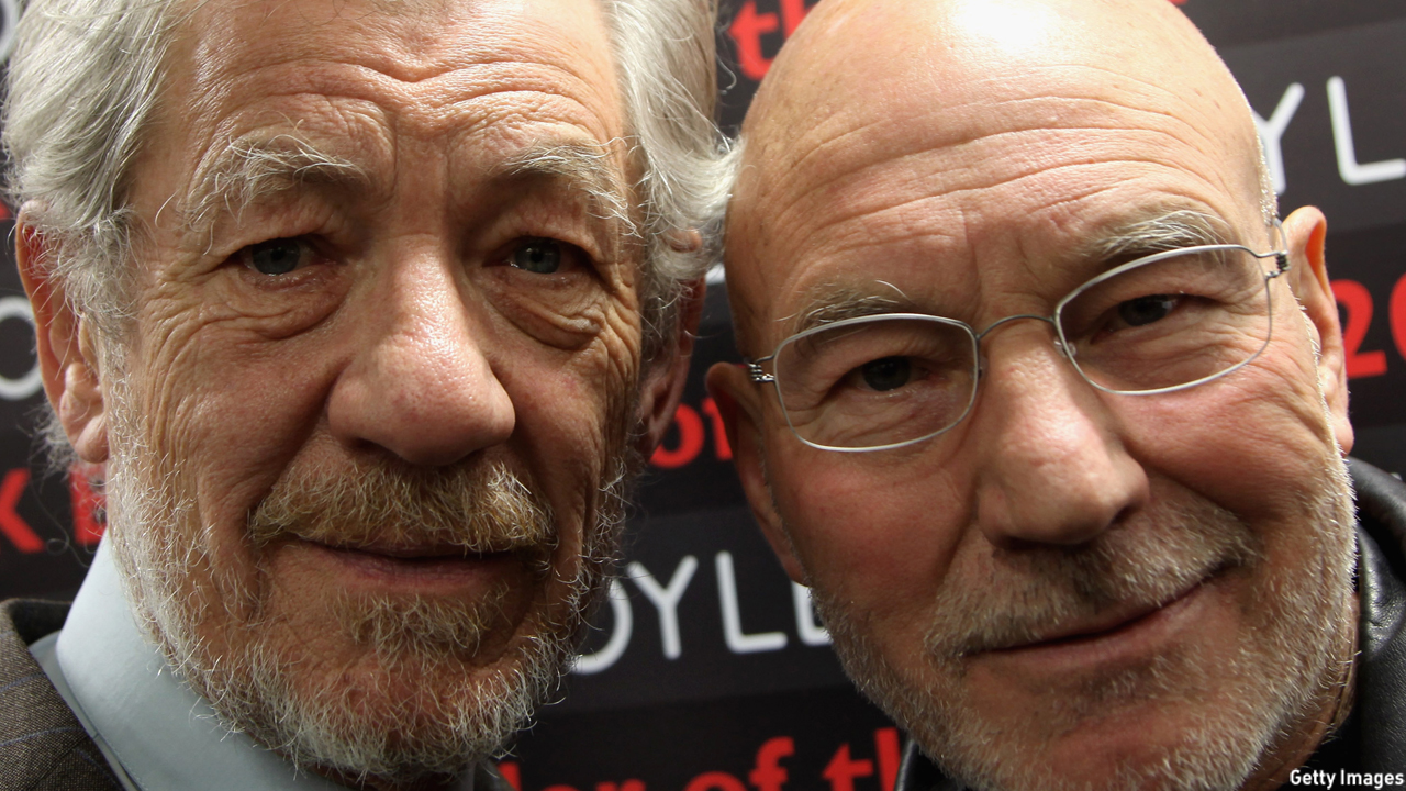 Sir Ian McKellen and Sir Patrick Stewart (Photo: Tim Whitby/Getty Images)